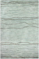 "Kenneth Mink Waves 8'6"" x 11'6"" Area Rug, Created for Macy's"