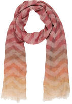 Missoni Multicolor Frayed Scarf w/ Tags
