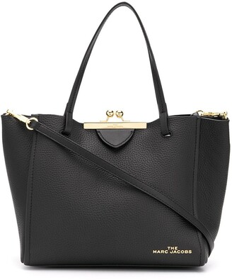 Marc Jacobs The Kiss Lock mini tote bag