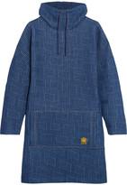 Kenzo Jacquard Mini Dress - Blue