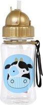 Skip Hop Zoo Straw Bottle, 12 oz, Cheddar