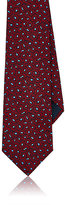 Lanvin Men's Abstract-Floral Silk Jacquard Necktie