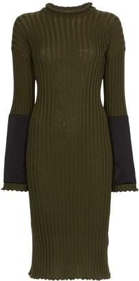 Bottega Veneta Knitted Cashmere Midi Dress