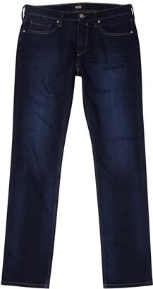 Paige Federal Indigo Straight-leg Jeans