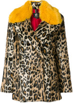 Paul Smith leopard print coat
