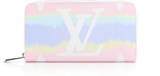 Louis Vuitton Zippy Wallet Limited Edition Escale Monogram Giant