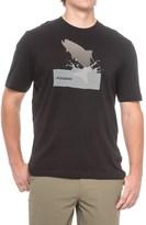 Sage Splashing Tarpon T-Shirt - Short Sleeve (For Men)
