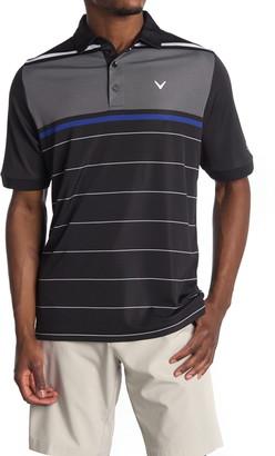 Callaway Golf Striped Golf Polo