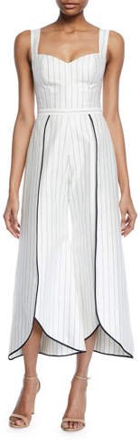 Alexis Edaline Striped Wide-Leg Jumpsuit