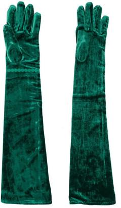 MM6 MAISON MARGIELA Velvet Long Gloves