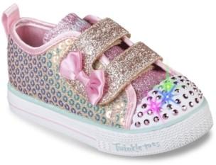 Skechers Twinkle Toes Shuffles Light-Up Sneaker - Kids'