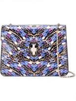 Bulgari snake motif crossbody bag