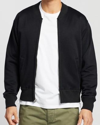Ralph Lauren RRL Fleece Baseball Jacket