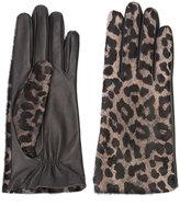 Perrin Paris leopard gloves