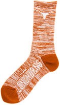 For Bare Feet Texas Longhorns RMC 504 Crew Socks