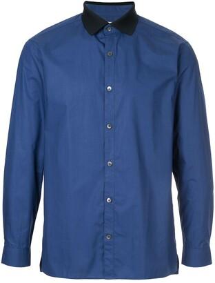 Cerruti Contrast Collar Shirt