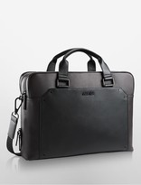 Calvin Klein Ethan Slim Double Zip Commuter Bag