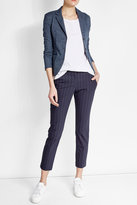 Woolrich Blazer with Cotton and Linen