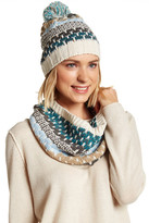 Rampage Multicolor Scarf & Beanie Set