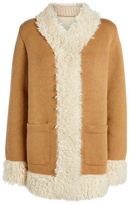 Barrie Cashmere-Blend Knitted Coat