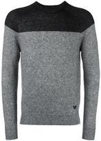 Armani Jeans colour block jumper