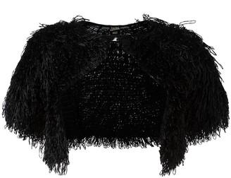 Jean Paul Gaultier Pre Owned Fringe Bolero Jacket