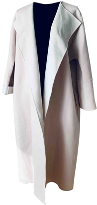 Max Mara Weekend Beige Wool Coat for Women
