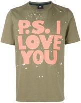 Paul Smith splatter print T-shirt