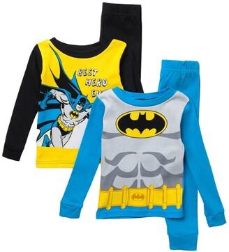 AME DC Batman Print Cotton Pajama Set - Set of 2