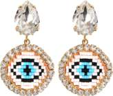 Shourouk Happy Small Eye Earrings