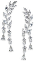 INC International Concepts Silver-Tone Crystal Ear Climber Earrings, Only at Macy's