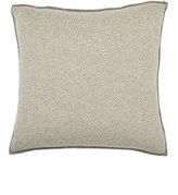 Rani Arabella Herringbone Cashmere Pillow