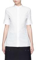 Acne Studios 'Sybil' cotton poplin short sleeve shirt