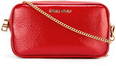 Miu Miu 'Little' bag with chain - women - Calf Leather - One Size