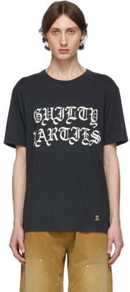Wacko Maria Black Guilty Parties T-Shirt
