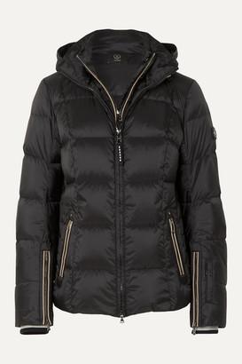 Bogner Sanne-d Hooded Quilted Down Ski Jacket - Black