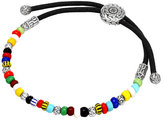 John Hardy Multicolored Silver Round Beaded Bracelet