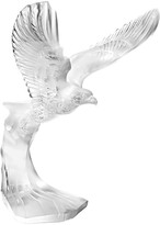 Lalique Clear Golden Eagle Figure