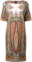 Etro Persian print dress - women - Cotton/Spandex/Elastane - 44