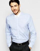 Ben Sherman Textured Mini Check Shirt
