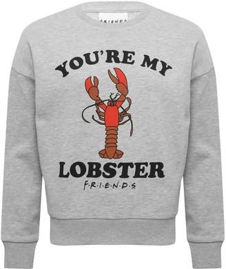 M&Co Teen Friends lobster sweatshirt