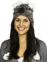 Simplicity Animal Winter Ski Beanie with Ear Flaps