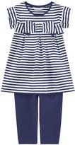 Mayoral Stripe print dress and leggings
