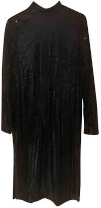Nasty Gal Black Glitter Dress for Women