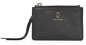 Marc Jacobs Women's The Softshot Zip Leather Card Case