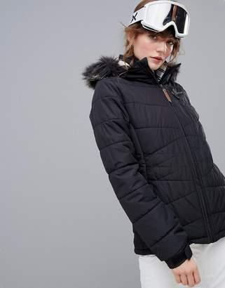 Protest Valdez ski jacket in black