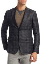 Z Zegna Slim-Fit Wool Sportcoat