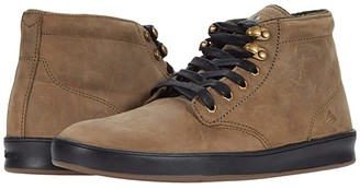 Emerica Romero Laced High (Brown/Gold/Black) Men's Shoes