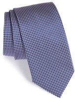 Eton Men's Circle Geometric Silk Tie