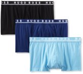 HUGO BOSS BOSS Men's Cotton Stretch Boxer Brief, Pack of 3